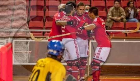 Benfica goleia Carvalhos