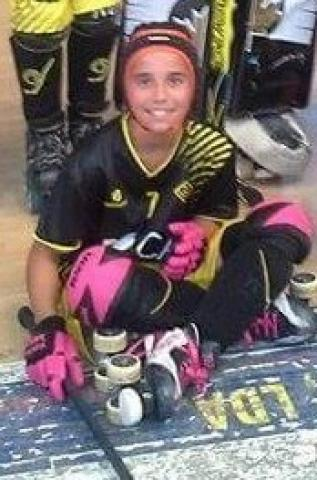 ED Viana - Naiara Gonçalves a 1ª menina a jogar no clube