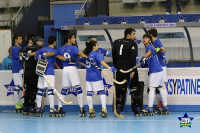 Eurockey sub 17 - HC Braga afastado da final