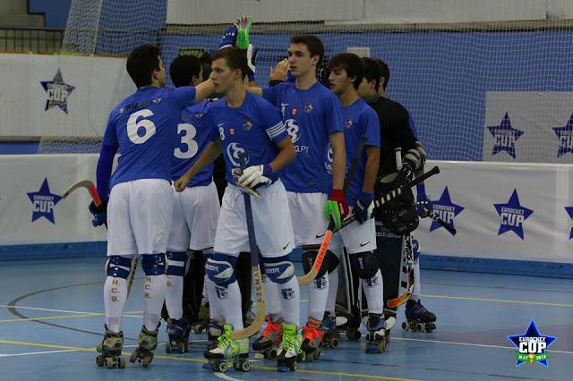 Eurockey Cup - HC Braga volta a ganhar, agora sobre o Quintinc da França