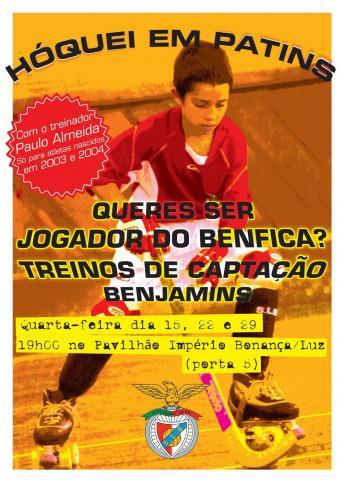 Benfica prossegue captação de benjamins