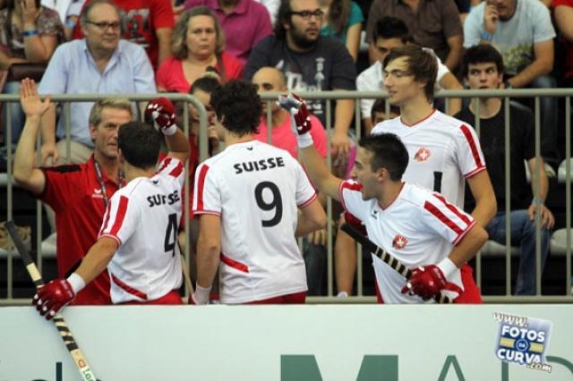 Suíça vence Inglaterra