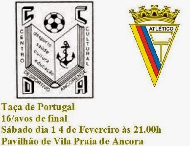 Taça de Portugal - Em Ancora, sobreviventes da 3ª divisão querem fazer história.