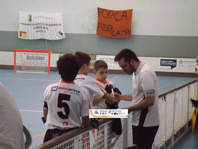 Infantis - ADB Campo perde com HC Turquel