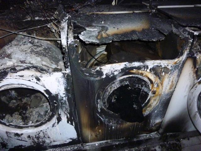 Incêndio destrói lavandaria do Cambra