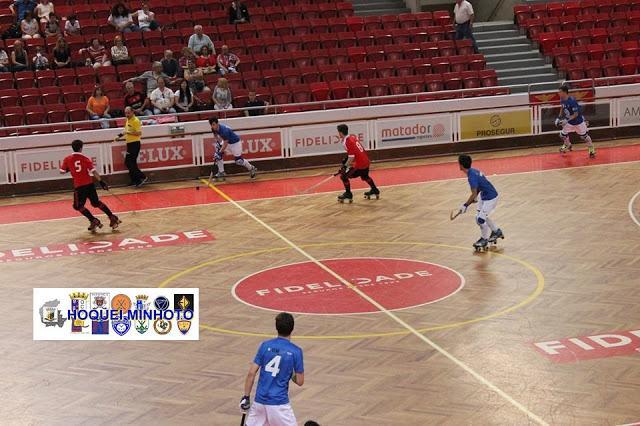 Nacional de Juvenis - HC Braga perdem no Benfica