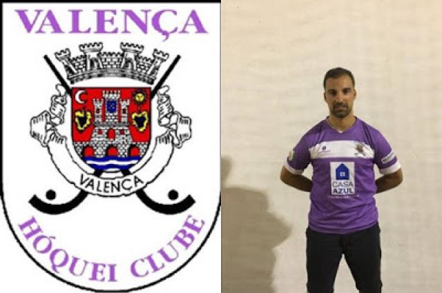 Tiago Ferraz ex AD Sanjoanense reforça Valença HC