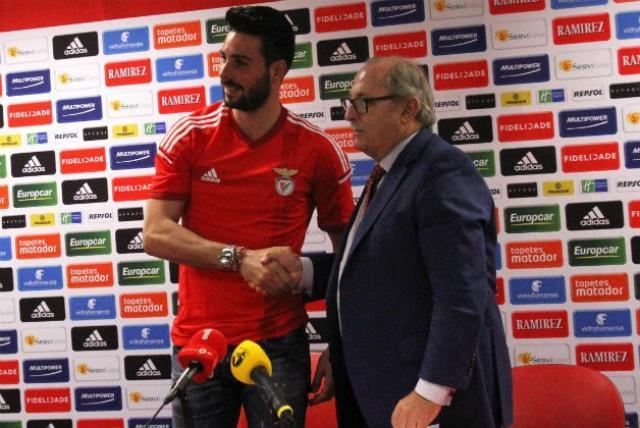 Marc Torra apresentado no Benfica